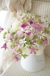 お嫁さんのためのブーケ -  La Fleur