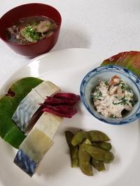 鯖寿司 - 食いしん坊イノキチとカイトの日記