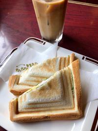 ミックスホットサンド - 日だまりカフェ