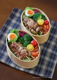 焼き鳥弁当 ✿ 三太郎の日(๑¯﹃¯๑)♪ - **  mana's Kitchen **