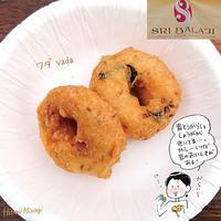 【南インド料理】シリバラジ「プレーンワダ」【豆のペーストを揚げたもの】 - 溝呂木一美の仕事と趣味とドーナツ