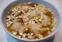 あらびき豚のワンタンスープ - sobu 2
