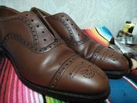 古靴を買った時の簡単クリーニング - 池袋西武5F靴磨き・シューリペア工房