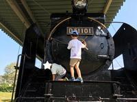 D51で遊べる島田市中央小公園! - 子どもと暮らしと鉄道と