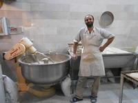 究極のフードリスト50038.テヘランのパン屋(イラン) - Da bin ich! -わたしはここにいます-