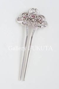 「銀線細工と日本刺繍」開催中です。 - Gallery福田