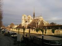 パリNotre-Dameの裏からの眺め - aile公式ブログ