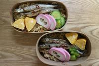 炊き込みご飯のお弁当とナット・キング・コール - オヤコベントウ