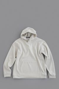 STILL BY HAND Wool Punch Pullover Parker (Grey) - un.regard.moderne