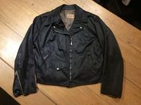 50's BECK satin twill ladies motorcycle jacket (mint condition) - BUTTON UP clothing