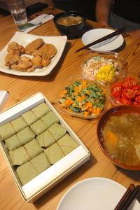 デパ地下惣菜いろいろ - 週末は晴れても、雨でも
