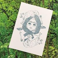 🐺オオカミ森の塗り絵コンテスト🎨 - ヨウル☆プッキのへんチョコ日記