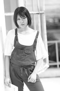 芦田希美ちゃん3 - モノクロポートレート写真館