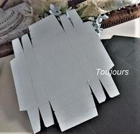 イヤリングの紙箱作り - Bijoux  du  Bonheur ~ビジュー ドゥ ボヌール~