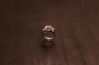 薔薇リングCP / CR-03 - アクセサリー職人 モリタカツヤ MOHI silver works  Jewelry Factory KUROBE