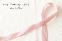 10月、ピンクリボン - from自由が丘 ベビー・キッズ・マタニティ・家族の出張撮影、say photography