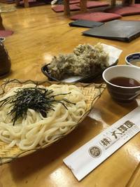 水沢うどん、焼きまんじゅう、花豆@群馬 - Beach Side Living - Kamakura -