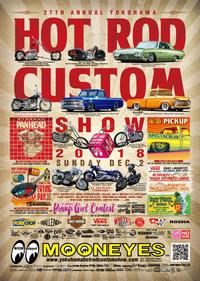 YOKOHAMA HOT ROD CUSTOM SHOW 2018 - Katsu Motorworks(カツモーターワークス)