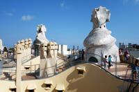 カサ・ミラ Casa Mila, La Pedreraアントニ・ガウディ Antoni Gaudi2018年9月 バルセロナの旅(3) - ピンホール写真 Pinhole Photography 旅(非日常)と日常(現実)