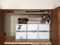 押入れ上段の整理 - 岐阜・整理収納アドバイザーのブログ・おちつくおうち