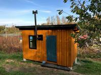 小屋づくりワークショップ・完成/余市エコヴィレッジ - 『文化』を勝手に語る