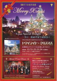 箱根ガラスの森美術館のクリスマス - はこね旅市場(R)日記