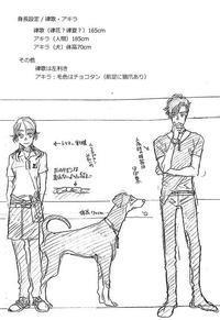 恋犬キャラ設定資料 1 - 山田南平Blog