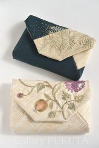 明日が「銀線細工と日本刺繍」展最終日です。 - Gallery福田