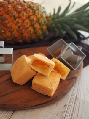 初のパイナップルケーキを作りました🍍 - **mari のkitchen diary**