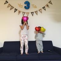 3歳のお誕生日会☆ - 食日和 ~アレルギーっ子と楽しい毎日~