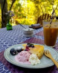 Hanna Hula Garden Cafe * 素敵なガーデンで、週末のみひっそりとオープン♪ - ぴきょログ~軽井沢でぐーたら生活~