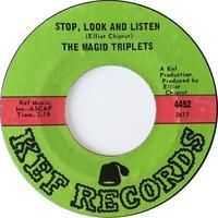 The Magid Triplets ‎– Stop, Look And Listen / Stormy Weather - まわるよレコード ACE WAX COLLECTORS