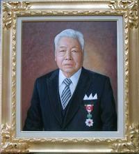 叙勲記念には油絵肖像画31年の実績ある「肖像画の益子へ」 - 肖像画の益子