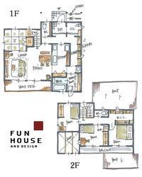 片付けなくていい家 - ファンハウスアンドデザイン │ 高知県のオーダーメードの新築・リフォーム