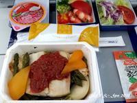 ◆ 機内食、その48「ソウル」へ(2017年6月) - 空と 8 と温泉と