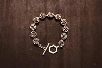 薔薇ブレスMen'sCP  / CB-04Men's - アクセサリー職人 モリタカツヤ MOHI silver works  Jewelry Factory KUROBE