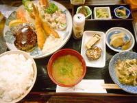 京都市 ミックスフライ定食 漬物割烹 ふく井 - 転勤日記