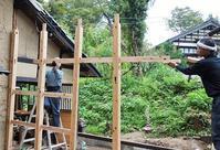 木工小屋の整備 2018.11.01 - 漆職人のかぶれにっき