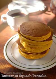 バターナッツスクワッシュのパンケーキ / 和牛の広告@コストコ - Kyoko's Backyard ~アメリカで田舎暮らし~