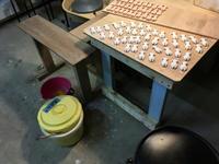 釉薬掛け - 週末陶芸家 フジサキウサジ