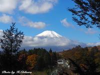 やがて冬を迎える前に富士 - 写真家 海老原 勇人