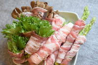 小皿つまみ*野菜巻き串 - 小皿ひとさら