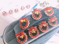 Christmas mini mini wreath~* - 私らしく輝いて*  毎日が Ribbon Days *