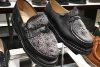 恋焦がれたミンクファー - 玉川タカシマヤ靴磨き工房 本館4階紳士靴売場
