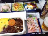 ◆ 機内食、その54「ソウル」へ、後編(2017年12月) - 空と 8 と温泉と