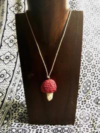 【マクラメ&ヘンプ】#197シトリンのきのこネックレス - Shop Gramali Rabiya (SGR)