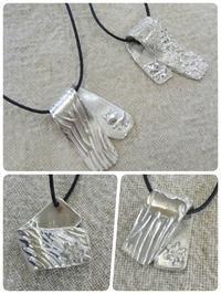 昨日は美銀の銀粘土体験会。 - 銀粘土と樹脂粘土と2匹のねこ