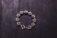 薔薇ブレスLady'sCP  / CB-03Lady's - アクセサリー職人 モリタカツヤ MOHI silver works  Jewelry Factory KUROBE