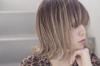 髪にやさしいヘアサロンモードなハイトーンボブ - 空便り 髪にやさしいヘアサロン 髪にやさしいヘアカラー くせ毛を愛せる唯一のサロン