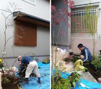 庭づくりのスタート地点を朝霞の家 - 成長する家 子育て物語